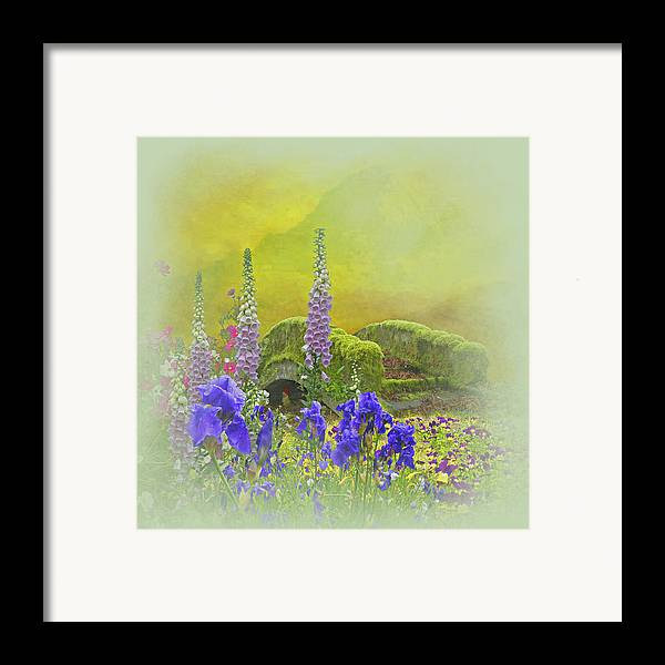 Fusion Photography Framed Print featuring the photograph Another Mythical Landscape by Jeff Burgess