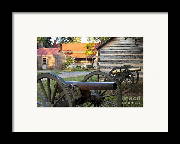 Carter Framed Print featuring the photograph Battle Of Franklin by Brian Jannsen