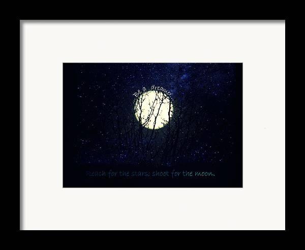 Be A Dreamer Framed Print by Robin Dickinson