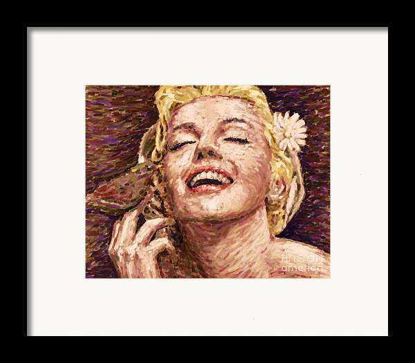 1926s Framed Print featuring the painting Beautifully Happy by Atiketta Sangasaeng