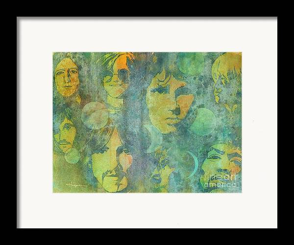 Watercolor Framed Print featuring the painting Because by Robert Hooper