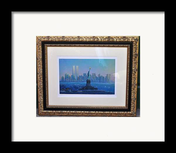 911 Framed Print featuring the photograph Before Nine Eleven by Jay Milo