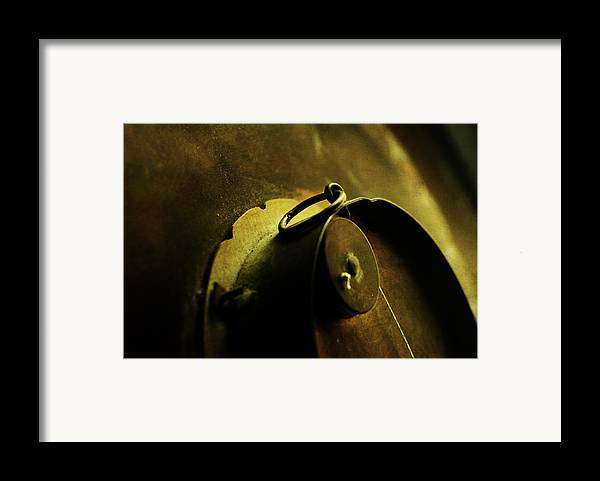 Conceptual Framed Print featuring the photograph Behind Closed Doors by Rebecca Sherman