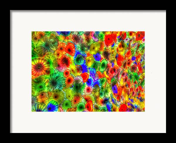 Bellagio Framed Print featuring the pyrography Bellagio Loby by Zachary Cox