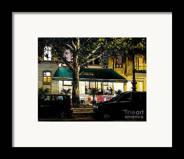 Berliner Pilsner Framed Print featuring the painting Berliner Pilsner by Michael Swanson
