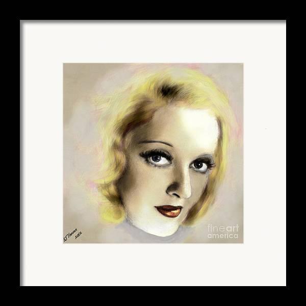Arne J Hansen Framed Print featuring the photograph Bette Davis Eyes by Arne Hansen