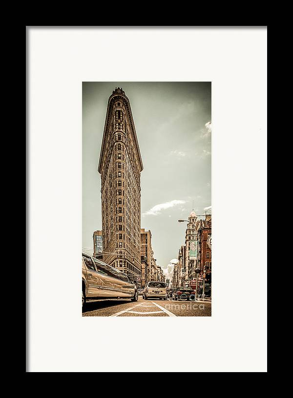 Nyc Framed Print featuring the photograph Big In The Big Apple by Hannes Cmarits
