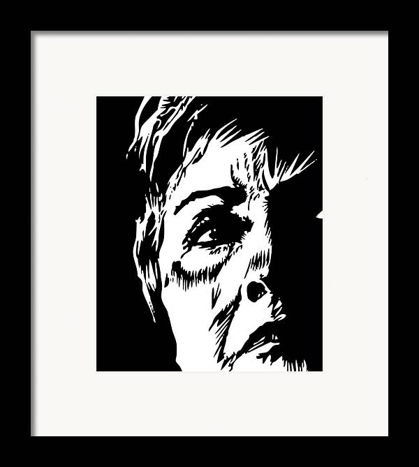 Hillary Clinton Framed Print featuring the digital art Bill's Old Lady by Phil Wooley