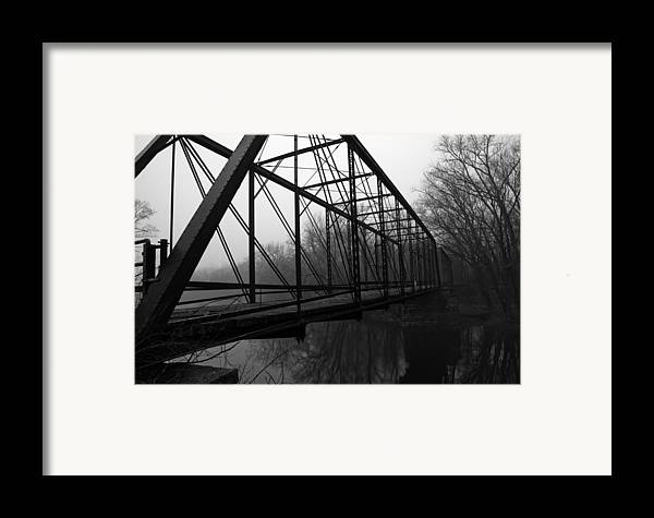 Bridge Framed Print featuring the photograph Bridge by Off The Beaten Path Photography - Andrew Alexander