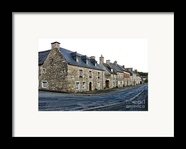 Brittany Framed Print by Olivier Le Queinec