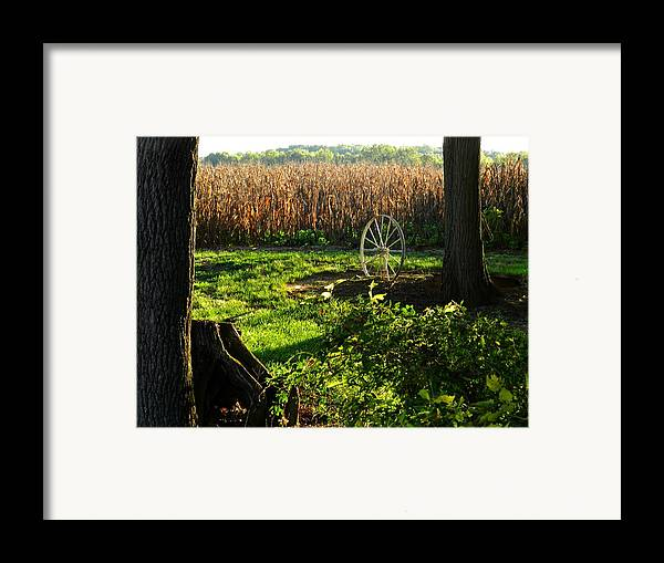 Rural Scenes Framed Print featuring the photograph Bruce's Place by Julie Dant