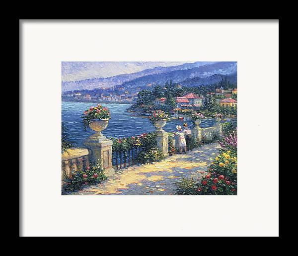 Woman Framed Print featuring the painting Captivating Charm by Ghambaro