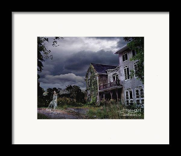 Ghost Framed Print featuring the photograph Castle House by Tom Straub