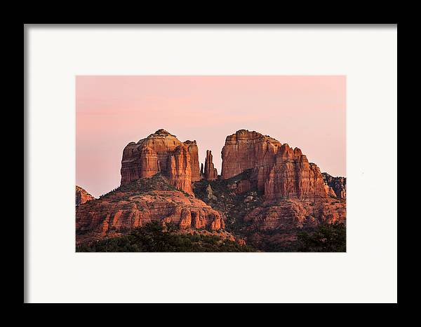 Sedona Framed Print featuring the photograph Cathedral Rock Sunset by Mary Jo Allen