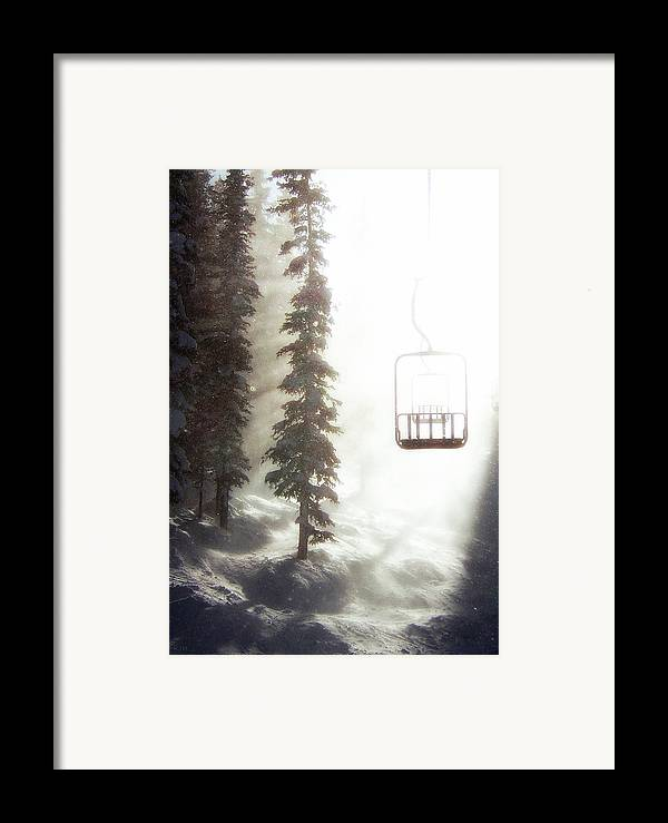 Alpine Framed Print featuring the photograph Chairway To Heaven by Kevin Munro