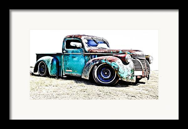 Chev Pickup Framed Print featuring the photograph Chevrolet Pickup by Phil 'motography' Clark
