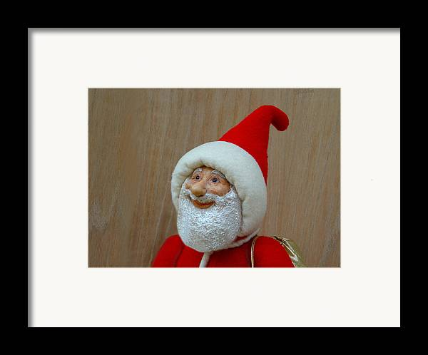 Santa Claus Framed Print featuring the painting Christmas Cheer by David Wiles