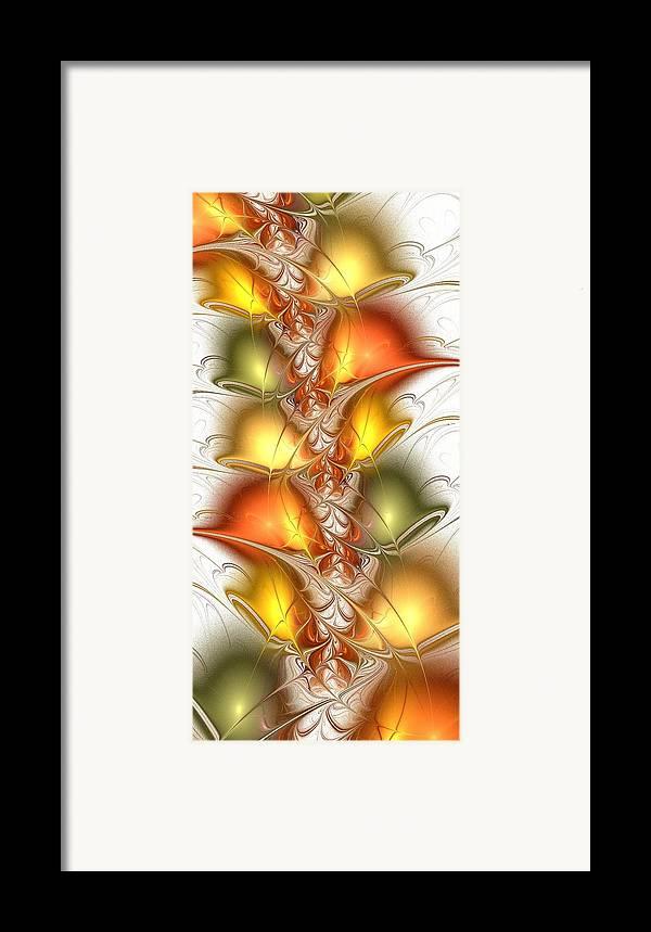 Malakhova Framed Print featuring the digital art Citrus Colors by Anastasiya Malakhova