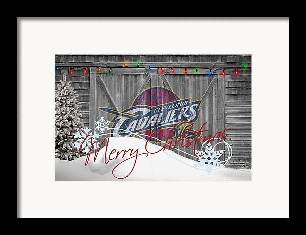 Cavaliers Framed Print featuring the photograph Cleveland Cavaliers by Joe Hamilton