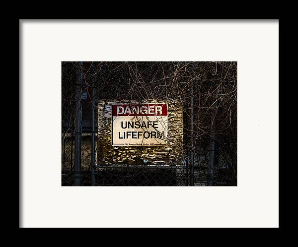 Unsafe Framed Print featuring the photograph Close Enough For Me by Bob Orsillo