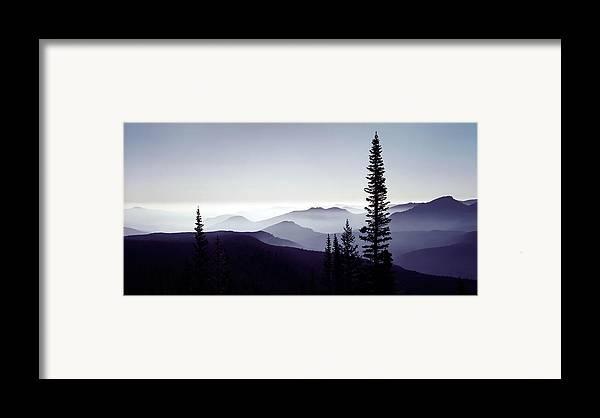 3scape Photos Framed Print featuring the photograph Colorado Haze by Adam Romanowicz