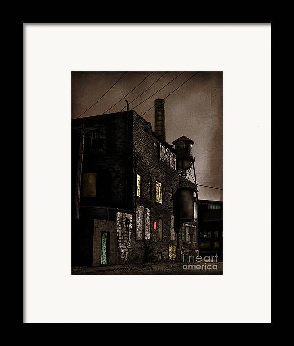 Abandoned Framed Print featuring the photograph Condemned by Colleen Kammerer