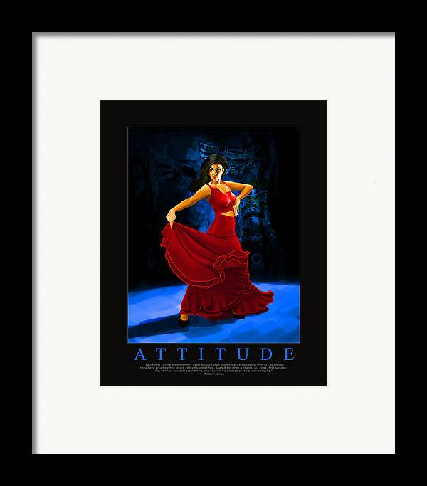 Corporate Framed Print featuring the painting Corporate Art 002 by Catf