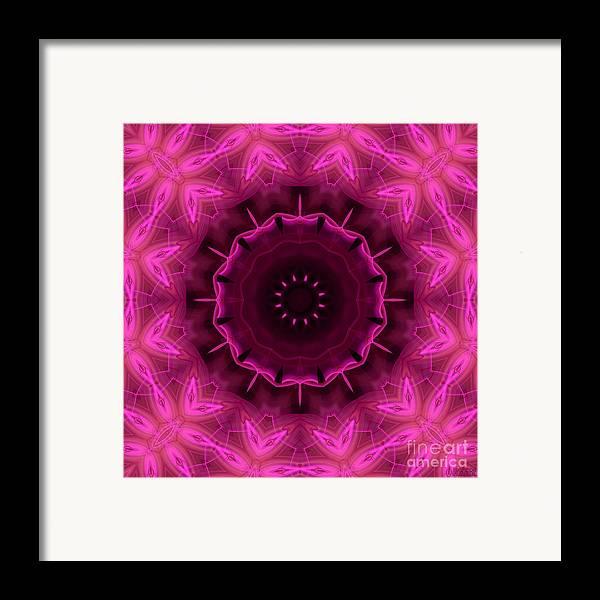 Hanza Turgul Framed Print featuring the digital art Cotton Candy by Hanza Turgul