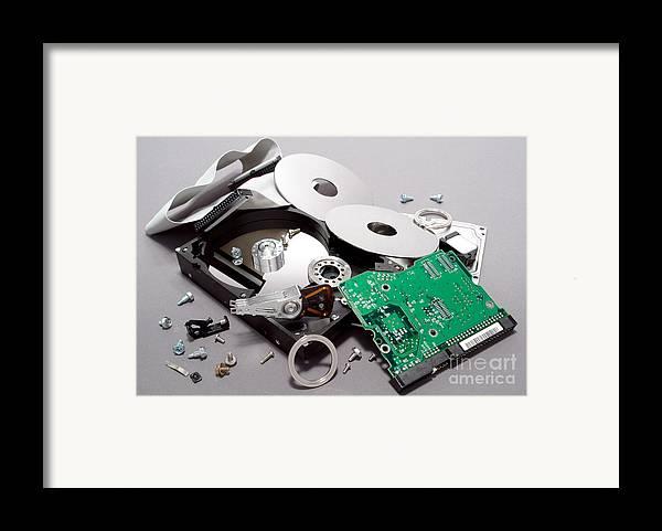 Crashed Framed Print by Olivier Le Queinec