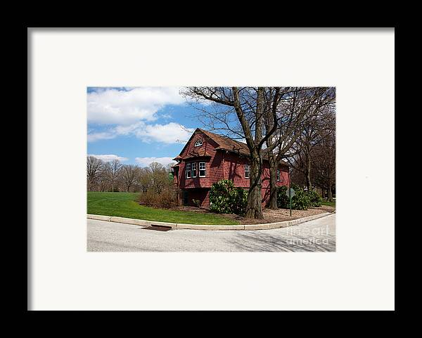Haverford Framed Print featuring the photograph Cricket Building At Haverford College by Kay Pickens