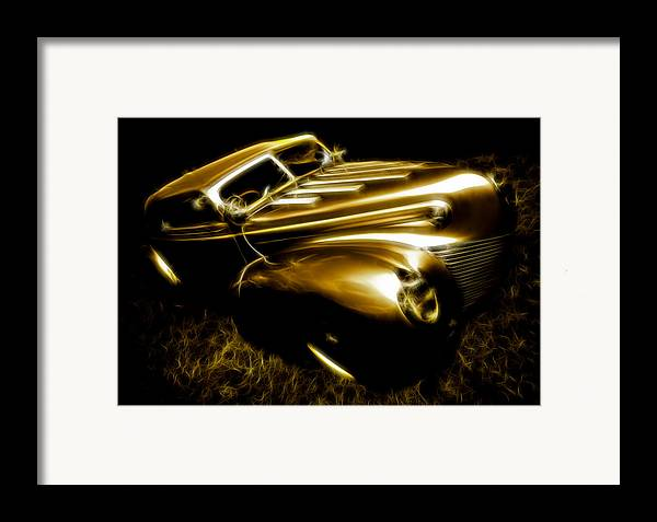 39 Ford Framed Print featuring the photograph Custom Ford Roadster by Phil 'motography' Clark