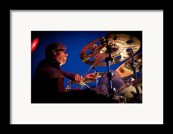 The Kingpins Framed Print featuring the photograph Dale Keeney Of The Fabulous Kingpins by David Patterson