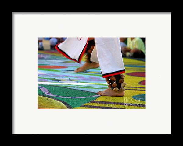 Dancing Framed Print featuring the photograph Dancing Feet by Henrik Lehnerer
