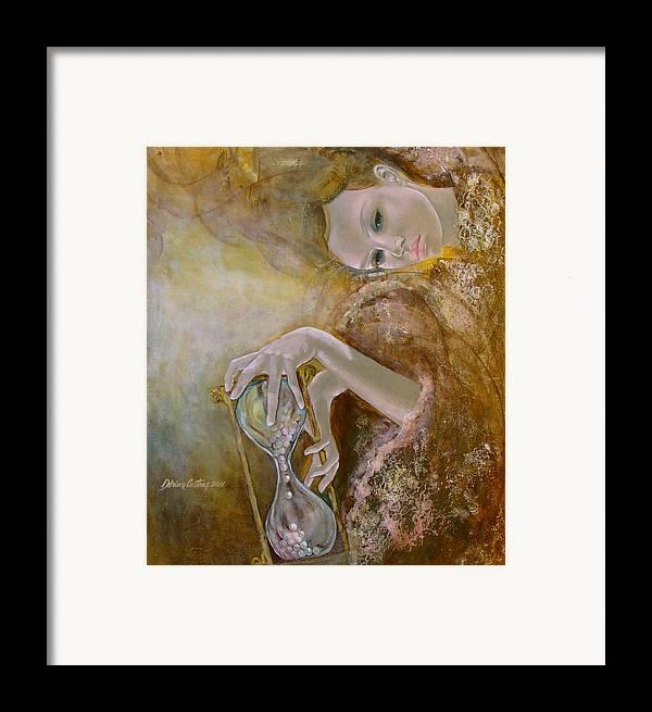 Art Framed Print featuring the painting Deja Vu by Dorina Costras