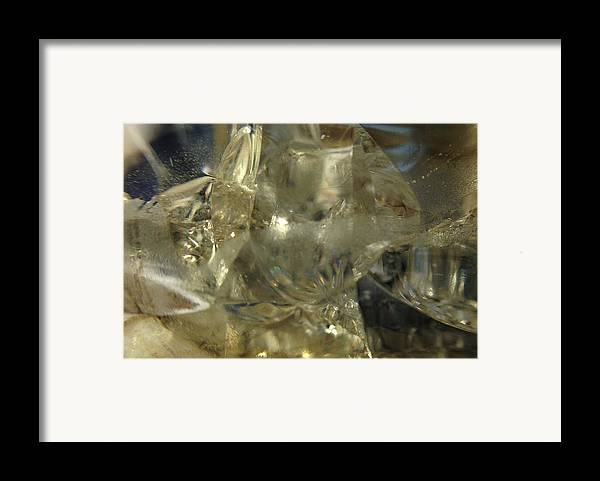 Glass Framed Print featuring the photograph Depths Within by Gaby Tench