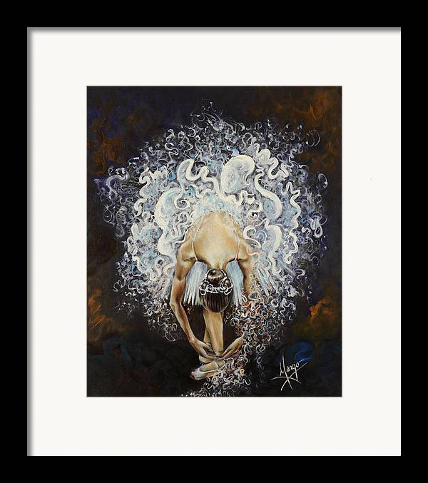 Dance Framed Print featuring the painting Devotion by Karina Llergo