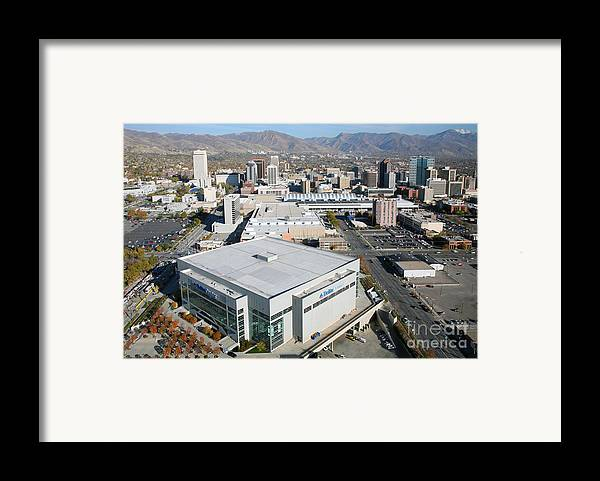 222 South Main Framed Print featuring the photograph Downtown Salt Lake City by Bill Cobb