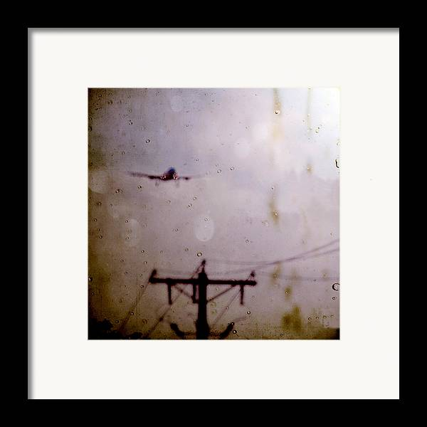 Leflaneuse Texture Framed Print featuring the photograph Drifting Into Daydreams by Trish Mistric
