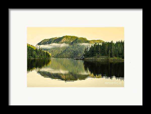 Reflections Framed Print featuring the photograph Early Morning Reflections by Robert Bales