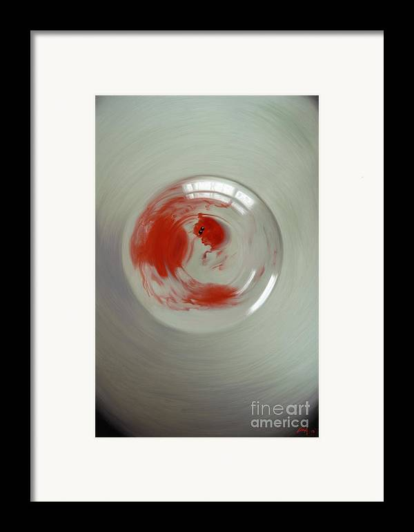 Birth Framed Print featuring the digital art Embryogenesis #3 Of 3 by Thomas Luca