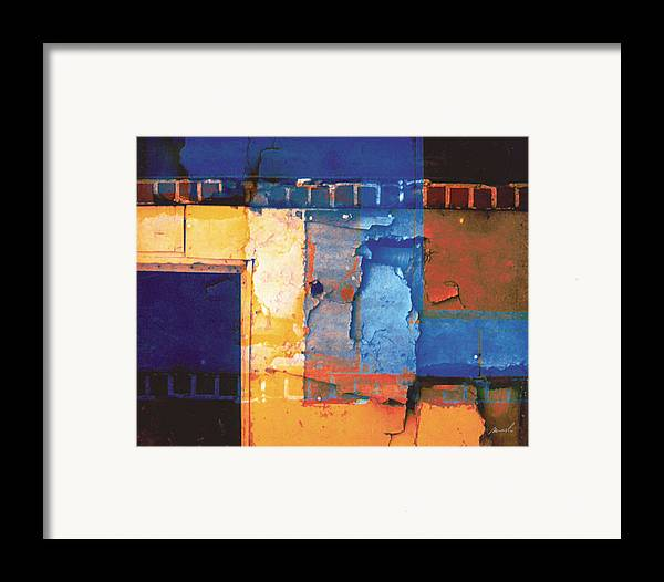 Architecture Framed Print featuring the digital art Enter by The Art of Marsha Charlebois