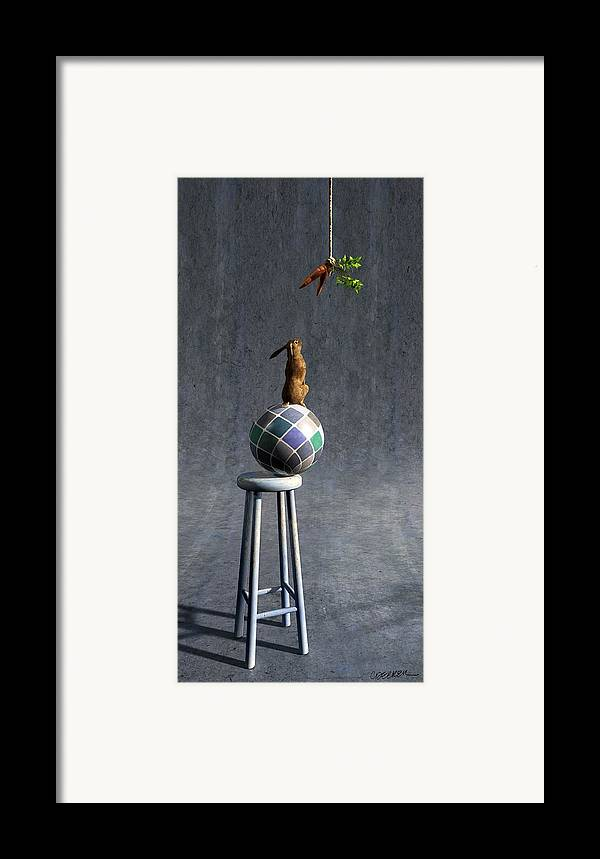 Balance Framed Print featuring the digital art Equilibrium II by Cynthia Decker