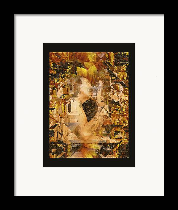 Nude Framed Print featuring the photograph Eternally Yours by Kurt Van Wagner
