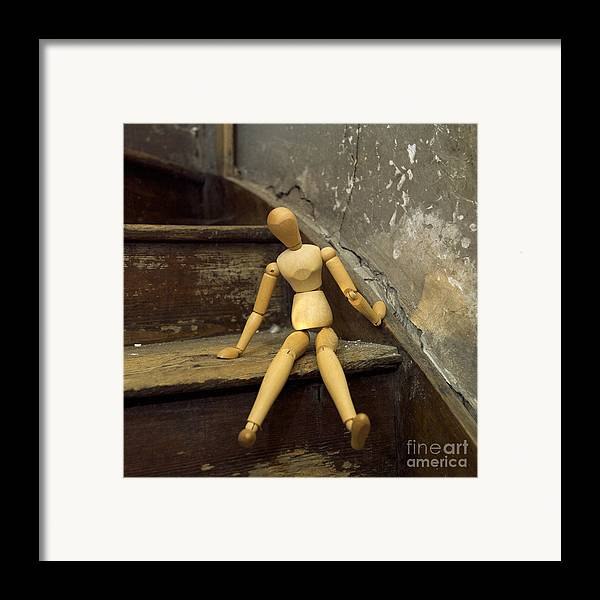 Indoors Framed Print featuring the photograph Figurine by Bernard Jaubert
