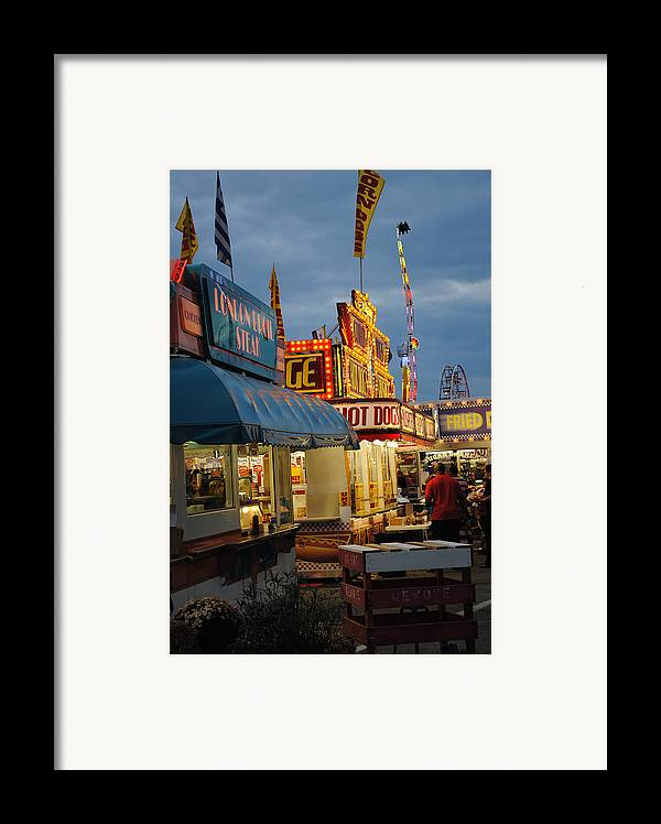 Scenic Tours Framed Print featuring the photograph Food Court by Skip Willits