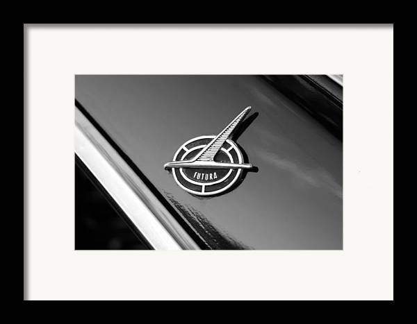 1963 Ford Futura Framed Print featuring the photograph Ford Futura by David Lee Thompson