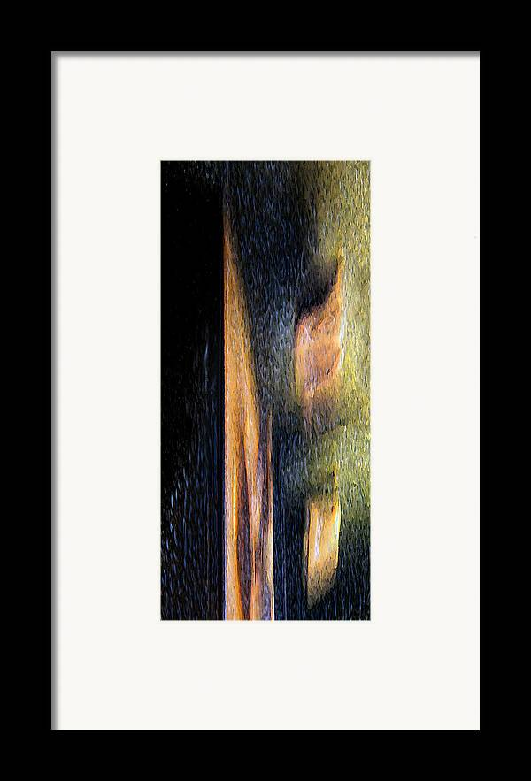 Abstract Framed Print featuring the photograph Form And Shadow by Murray Bloom