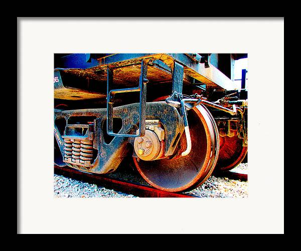 Up 590 Framed Print featuring the photograph Foundation 1 by Wendy J St Christopher