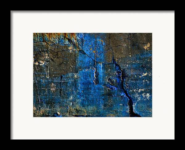 Industrial Framed Print featuring the photograph Foundation Three by Bob Orsillo