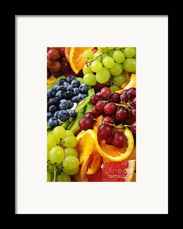 Fruit Framed Print featuring the photograph Fresh Fruits by Elena Elisseeva